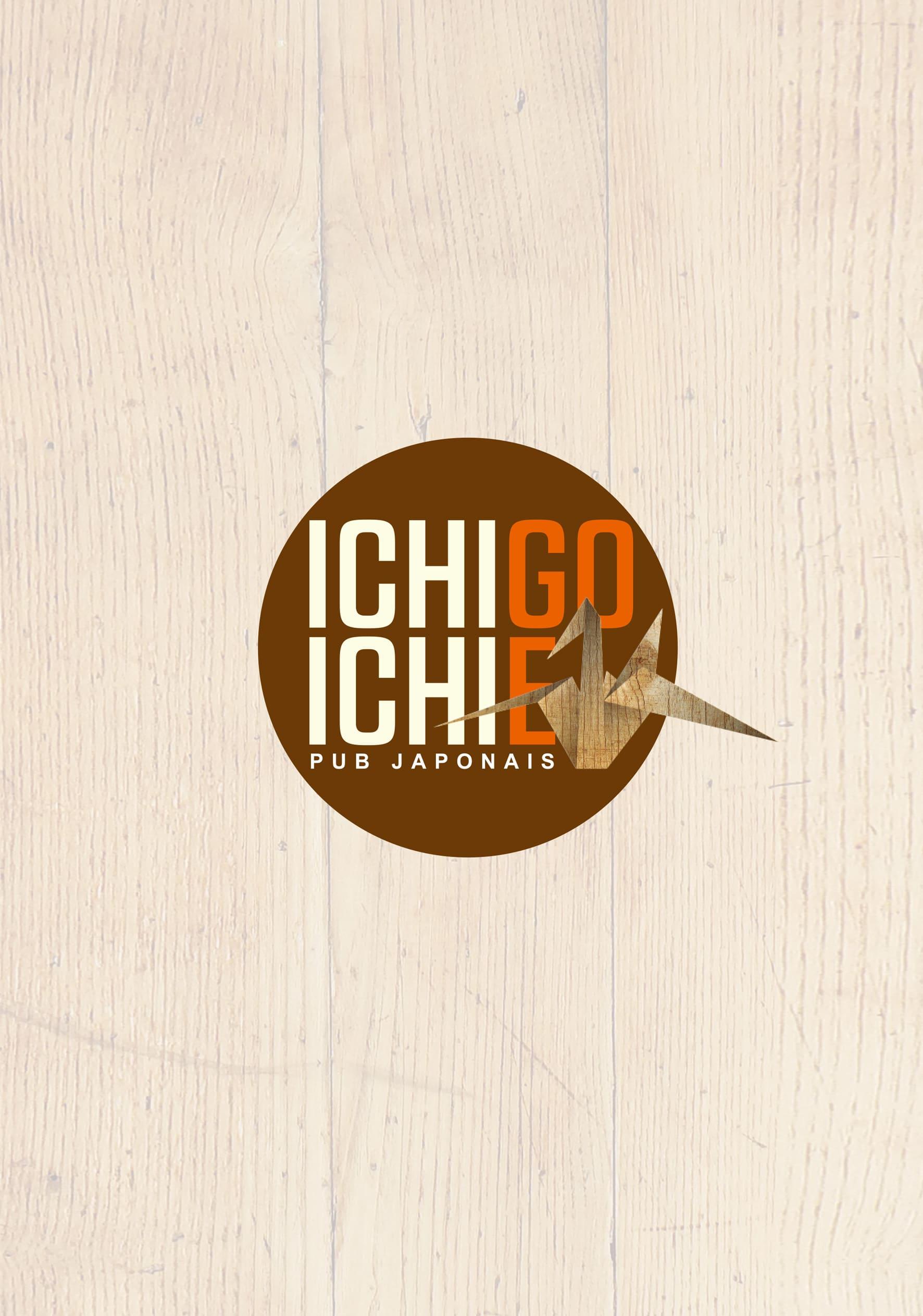 Ichigo Ichie Menu Cover